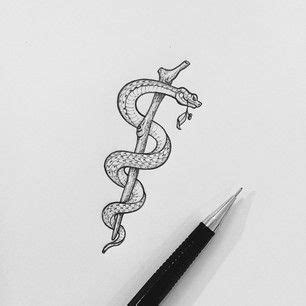 rod of asclepius tattoo designs asclepius search tattoos n stuff
