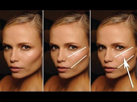 high cheek bones vs low step by step guide to finding your cheek bones youtube