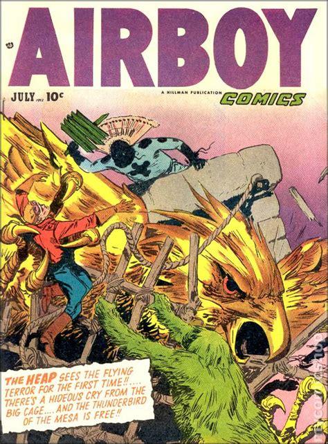 Reon Comic Volume 09 airboy comics vol 09 1952 hillman comic books