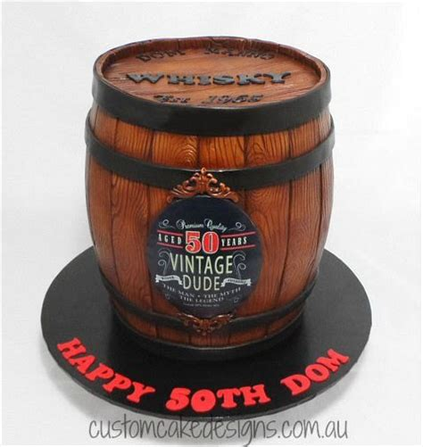 barrel cake whisky barrel cake cake by custom cake designs cakesdecor