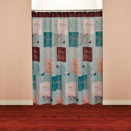butterfly blessings shower curtain walmartcom