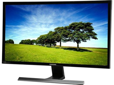 Samsung U28e590d Samsung U28e590d Black 28 Quot 4k Uhd Widescreen Lcd Led Monitor Amd Freesync 1ms 370 Cd M2 Dcr