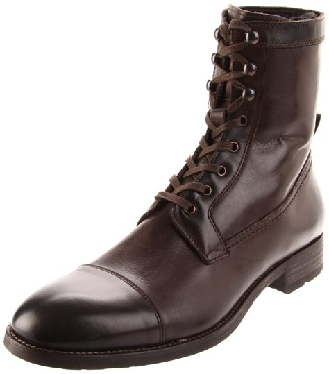 mens lace up boot to boot new york mens lincoln lace up boot in brown for