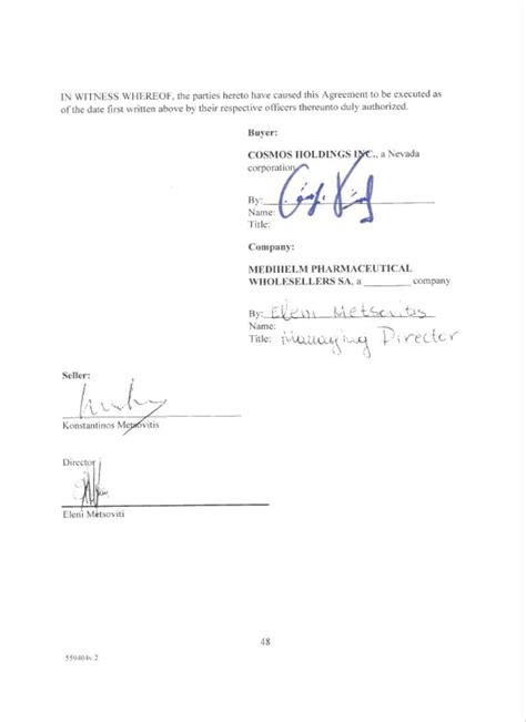 section 101 copyright act contract by cosmos holdings inc