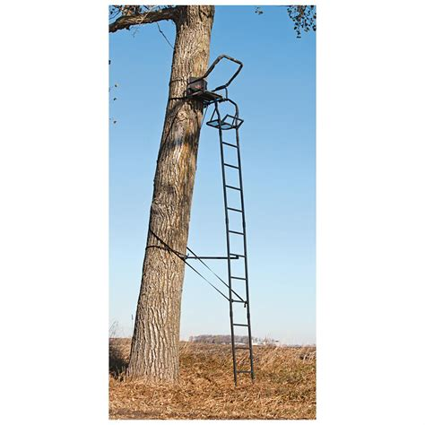 big game 174 warrior dx 17 ladder tree stand 292404