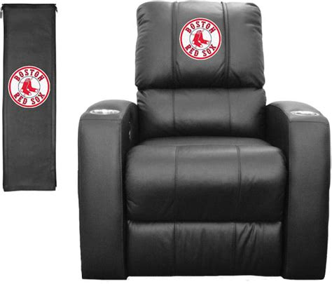red sox recliner mlb home theater recliner boston red sox stargate cinema