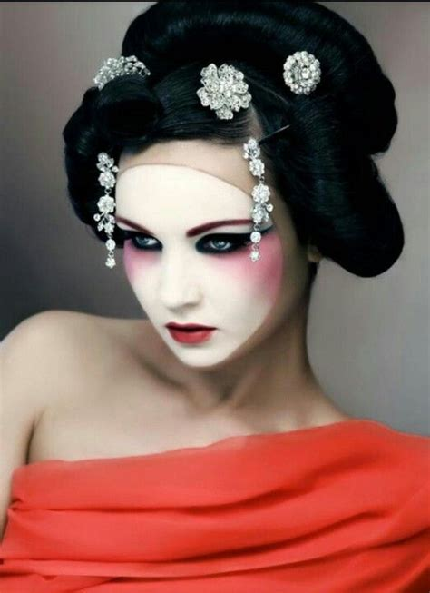 china doll look 6 make up how the china doll look was adapted here to