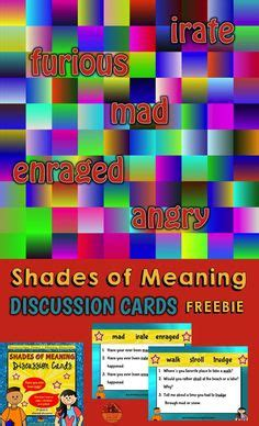 shades of meaning crockett s 1000 images about 3rd grade reading workshop on