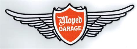 Jethelm Aufkleber by Moped Garage Net Moped Garage Fl 252 Gel Logo Aufn 228 Her Patch