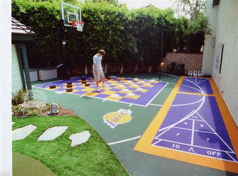 backyard sport court 10 summer backyard court activities from sport court sport court