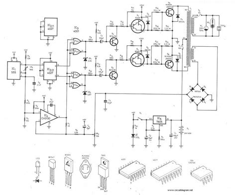 Pwm Dc Power Supply Input 220vac Output Dc 0 110v 24v inverter circuit diagram circuit and schematics diagram