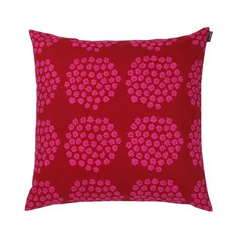 Marimekko Pillow by Marimekko Puketti Pink Throw Pillow Marimekko Throw