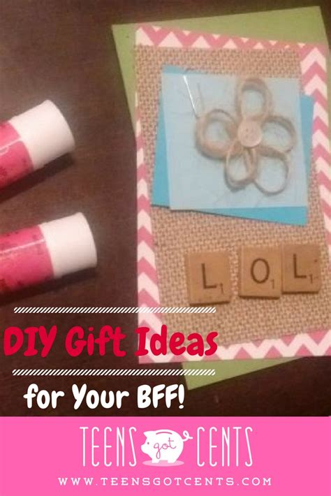 gifts to give your for diy gift ideas 3 back to school presents your best friend