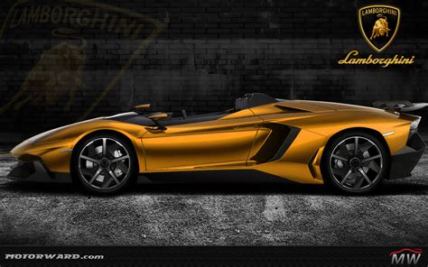 golden lamborghini lamborghini aventador j gold and more motorward