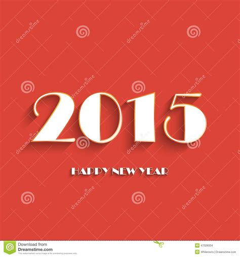 creative new year greeting cards happy new year 2015 creative greeting card design stock