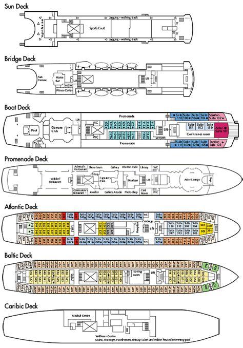 astor deck plan uk cruises