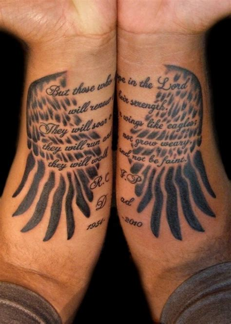 isaiah 40 31 tattoo amazing wings designs best 2015 designs