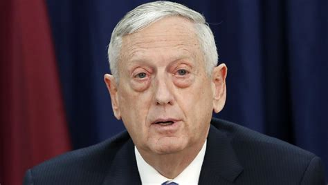 mattis syria mattis threatens syria wtih if us finds quot evidence quot of new sarin attack