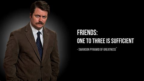 ron swanson pyramid  greatness wallpaper gallery