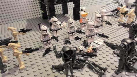 Lego Wars Starwars Brick lego wars battle of mygeeto brick