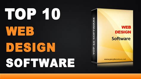 web software best web design software top 10 list