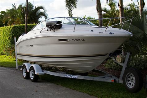 24 foot boats for sale sea ray 225 weekender 24ft cuddy cabin 2002 for sale for