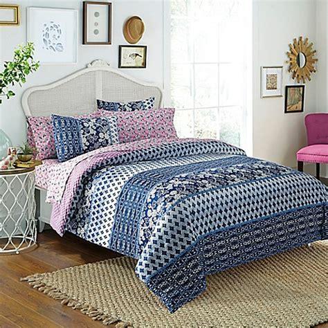 free spirit floral 5 7 piece reversible comforter set in
