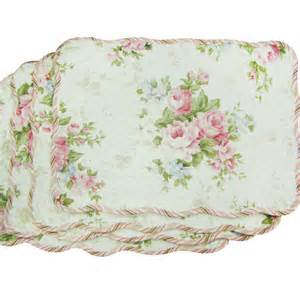 textiles plus inc quilted spring rose placemat reviews