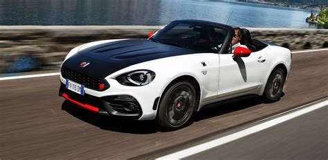 performance fiat fiat releases oz performance specs for abarth 124 spider