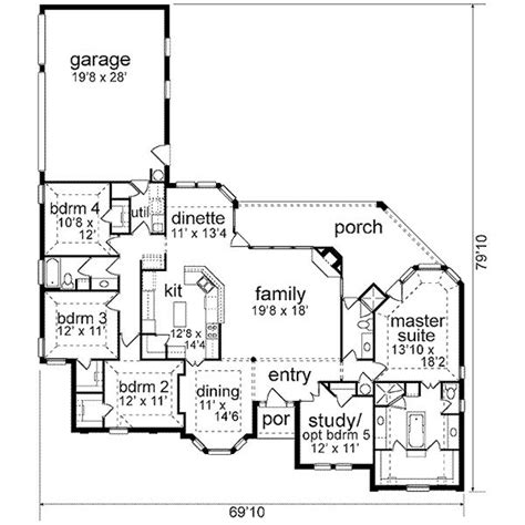 house plans with garage in back garage by back house plans pinterest