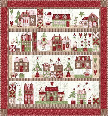 sewing pattern and fabric kits mistletoe lane quit kit sewing quilt ideas tips
