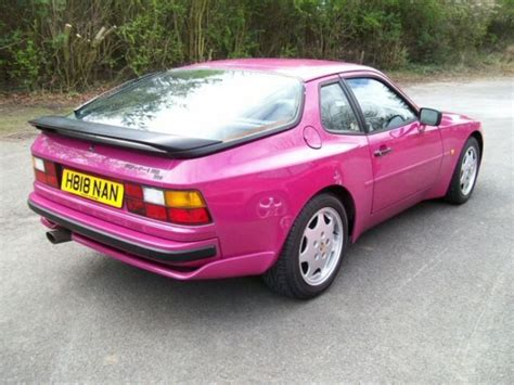 matte pink porsche pink porsche and porsche 944 on