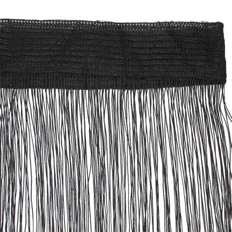 black fringe curtain popular black fringe curtains buy cheap black fringe