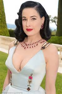 Barrel Shade Chandelier Dita Von Squeeze Teese Showcases Her Cleavage At Cannes