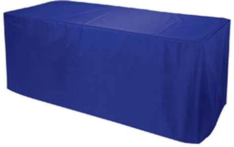 Royal Blue Table Covers by Table Cover 8 Epic Displays Inc