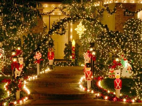 outside home christmas decorating ideas decoration outdoor lighted christmas decorations for