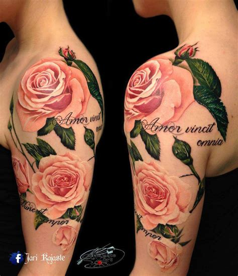 pink roses tattoo best tattoo design ideas