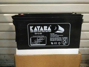 Kayaba Baterai Vrla 12v 65ah baterai murah kayaba 12v65ah glodok mentari solar led