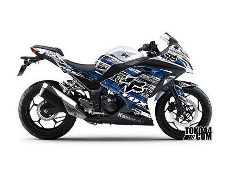 Stiker Tulisan Kawasaki by Jual Sticker 250 Injeksi Modifikasi Decal Kawasaki