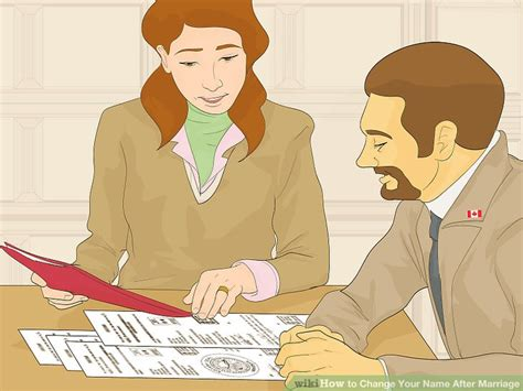 Name Change Background Check 5 Ways To Change Your Name After Marriage Wikihow