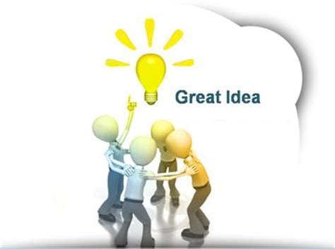great ideas for great