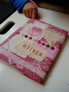 the slightly mad quilt fabric book cover tutorial