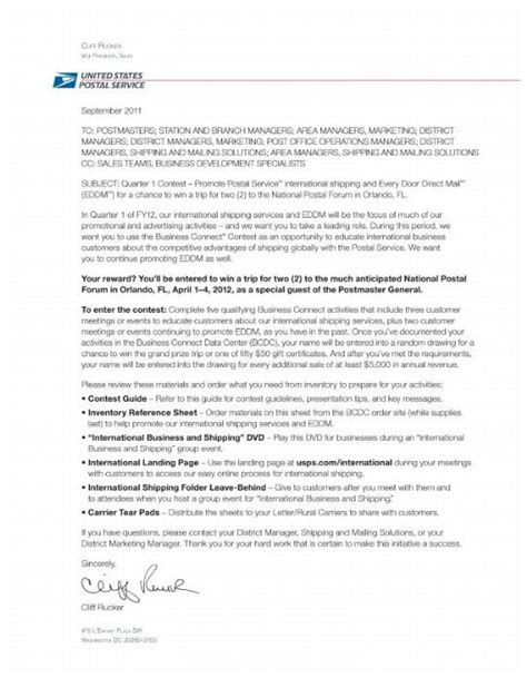 Cover Letter For Usps by Application Letter Sle Application Cover Letter Usps