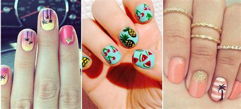 imagenes como decorar uñas dise 241 os de u 241 as para la playa el diario de la nena el