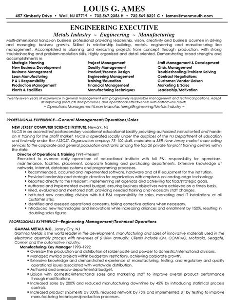 sle resume of it manager operations 28 images