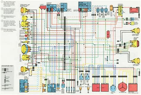 honda gl500 wiring diagram honda auto engine and parts