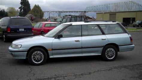 1992 subaru legacy 1992 subaru legacy wagon sold