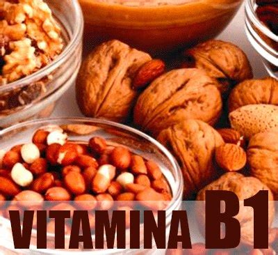 alimenti con vitamina b1 foods containing vitamin b1 what are its properties and