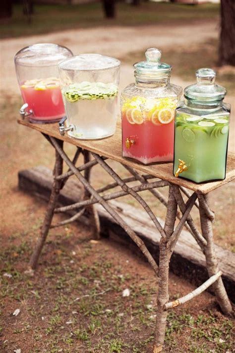 creative wedding drink bar station decor ideas deer