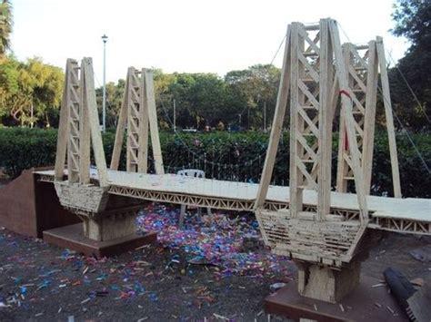 design   popsicle stick bridge